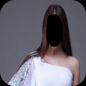 Girls Dress Style Photo Frames icon