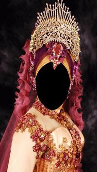 Hijab Wedding Fashion Photo Frames screenshot 3