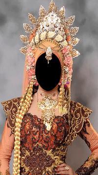 Hijab Wedding Fashion Photo Frames screenshot 1