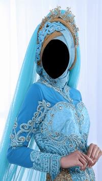 Hijab Wedding Fashion Photo Frames screenshot 2