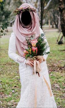 Hijab Wedding Style Photo Frames screenshot 11