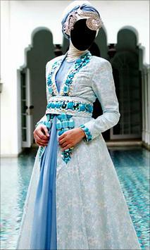 Hijab Wedding Style Photo Frames screenshot 1