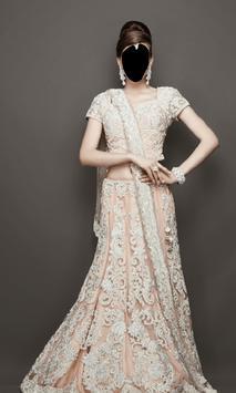 Indian Bride Dress Photo Frames screenshot 1