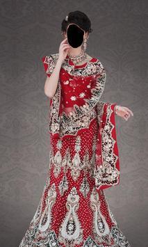 Indian Bride Dress Photo Frames screenshot 2