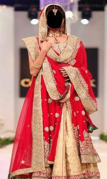 Indian Bride Dress Photo Frames screenshot 7