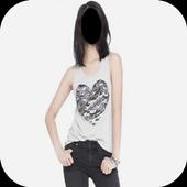 Lady Jeans Fashion Photo Frames icon