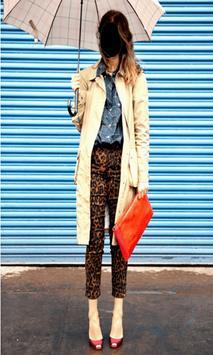 Lady Jeans Fashion Photo Frames poster