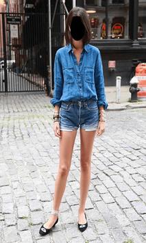 Lady Jeans Fashion Photo Frames screenshot 11