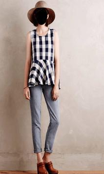Lady Jeans Fashion Photo Frames screenshot 2