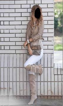 Lady Jeans Style Photo Frames screenshot 3