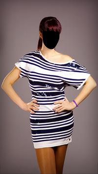 Lady Short Dress Fashion Photo Frames screenshot 7