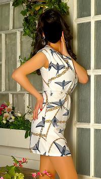 Lady Short Dress Fashion Photo Frames screenshot 2