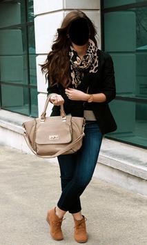 Popular Jeans Fashion Photo Frames screenshot 1