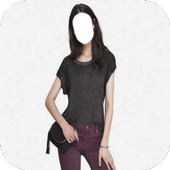 Popular Lady Jeans Style Photo Frames icon