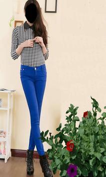 Popular Lady Jeans Style Photo Frames screenshot 1