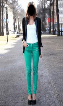 Popular Lady Jeans Style Photo Frames screenshot 2