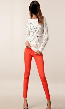 Popular Lady Jeans Style Photo Frames screenshot 3