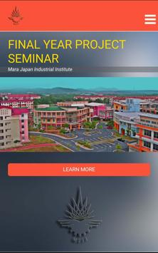 MJII FinalYearProject Seminar poster