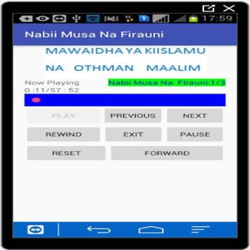 Nabii Musa Na Mwisho wa Firaun screenshot 1