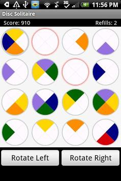 Disc Solitaire Free poster