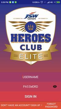 JSW Heroes Club Elite apk screenshot