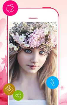 Flower crown photo editor screenshot 4