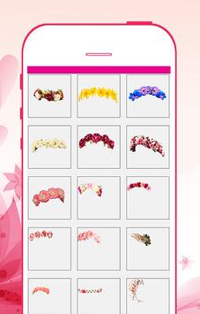 Flower crown photo editor screenshot 7