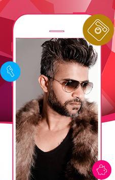 Man Hair & Beard Style Pro apk screenshot