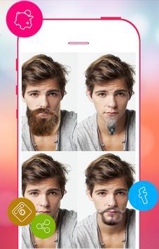 Beard Man Photo Editor poster