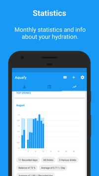 Aquafy - Hydration/ Water Drink Reminder apk screenshot