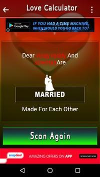 Photo Scanner Love Test Prank screenshot 2
