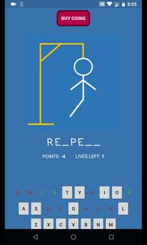 Hangman Game apk screenshot