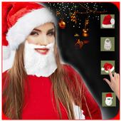 Christmas Photo Editor - Make me Santa icon