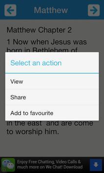 Holy Bible The New Testament screenshot 4