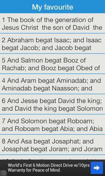 Holy Bible The New Testament screenshot 5