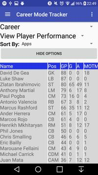 Career Mode Stat Tracker screenshot 2