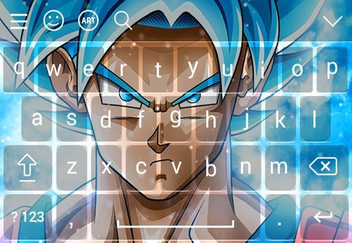 Goku Super Saiyan DBZ Keyboard screenshot 3