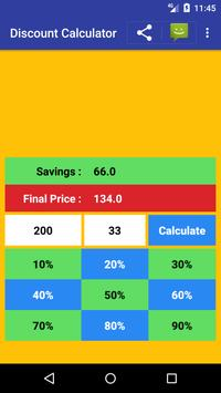 Sale Price Discount Calculator Free screenshot 1