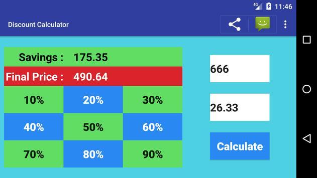 Sale Price Discount Calculator Free screenshot 2