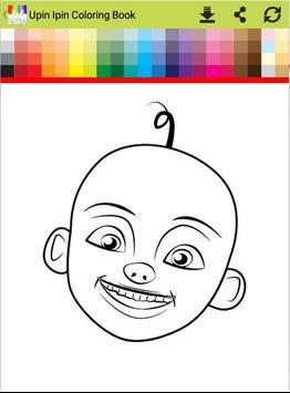 Coloring Book For Upin Ipin Apk Screenshot