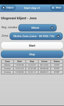 Start-stop Niš apk screenshot