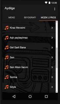 Aydilge - Gel Sarıl Bana Müzik apk screenshot