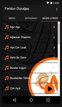 Feridun Düzağaç Müzik Lyrics screenshot 1