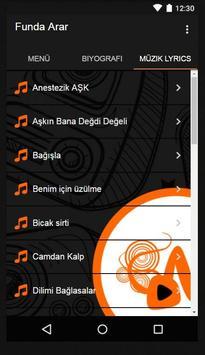 Funda Arar - Bağışla Müzik apk screenshot