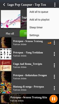 Lagu Pop Terbaru Mp3 Gratis screenshot 1