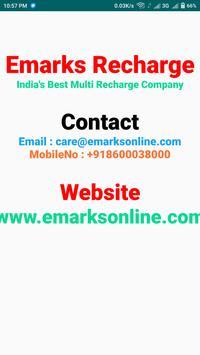 Emarks Recharge apk screenshot