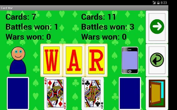 Card War apk screenshot