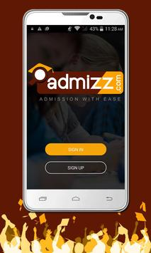 Admizz | Admission with Ease poster