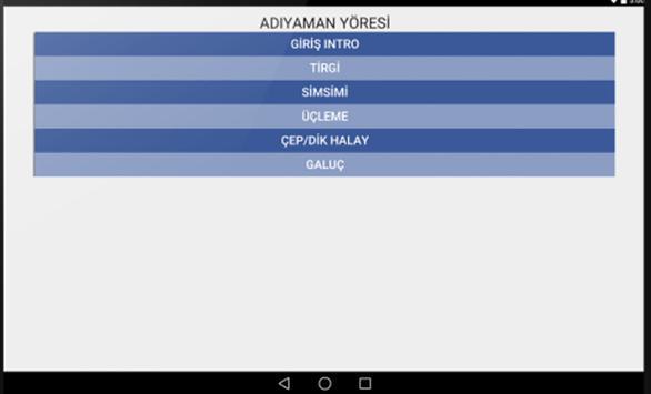 Adıyaman Halk Oyunları screenshot 4