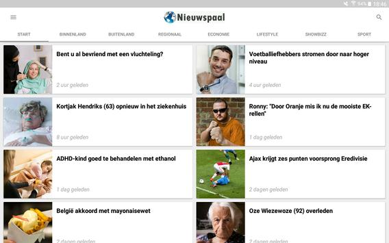 Nieuwspaal apk screenshot